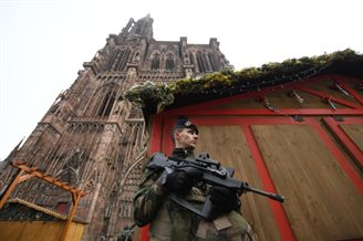 Pole hurt in Strasbourg Christmas market attack: report