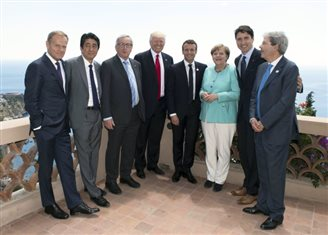 Migration, refugees and terrorism dominate talks at G7 summit
