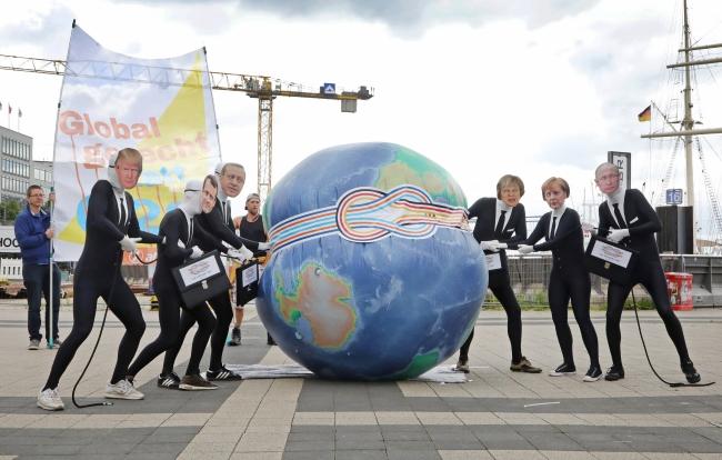 Протест у Німеччині напередодні саміту G20