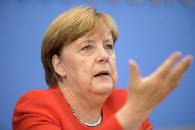 German Chancellor Angela Merkel. Photo: EPA/CLEMENS BILAN