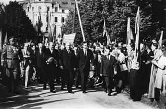 6 ліпеня 1950 г. была вызначана мяжа паміж ПНР і ГДР