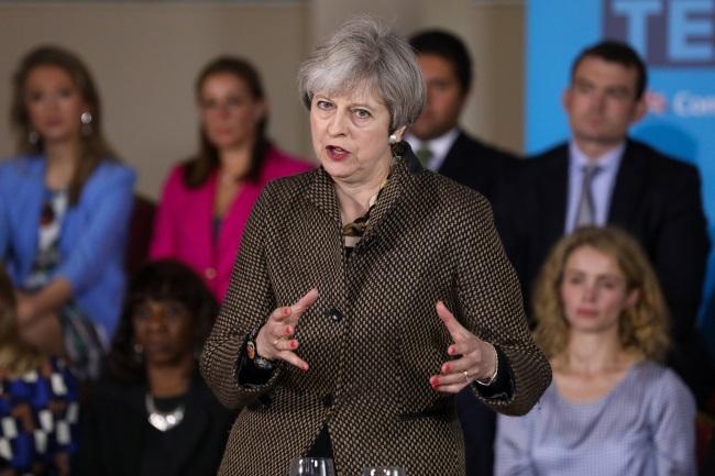 British Prime Minister Theresa May. Photo: EPA/CHRIS RATCLIFFE