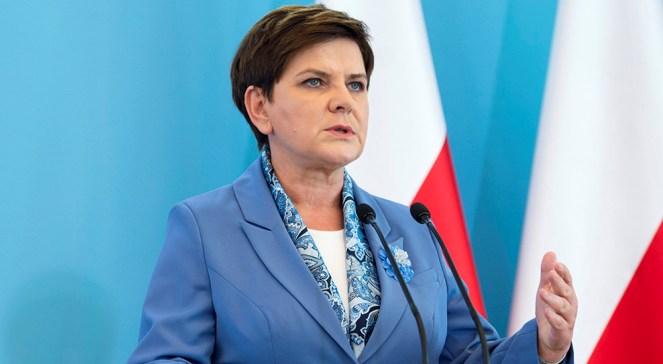 Прем'єрка Польщі Беата Шидло