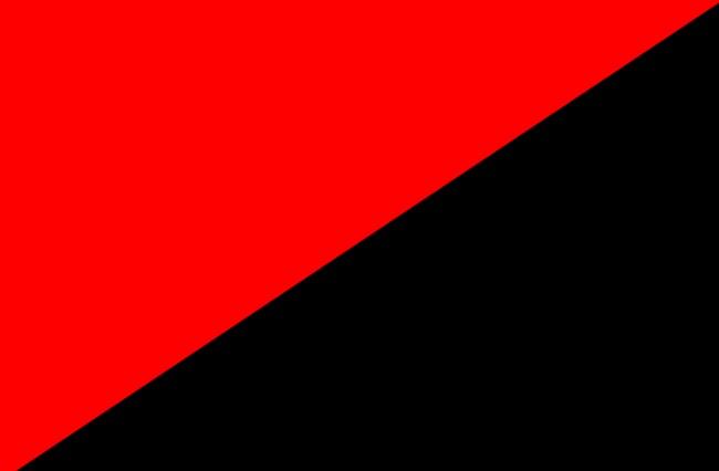 Чырвона-чорны сьцяг - адзін з сымбалеў анархізму