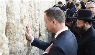 Staatspräsident Duda setzt seine Visite in Israel fort
