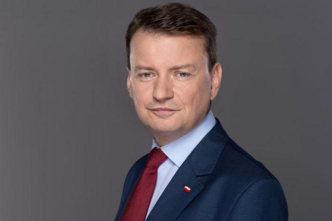 Министр внутренних дел и администрации Польши Мариуш Блащак.