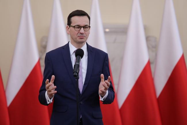 Премьер Матеуш Моравецкий.