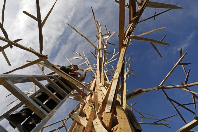 «Климатическое дерево» - символ 23-го саммита ООН по вопросу климата.