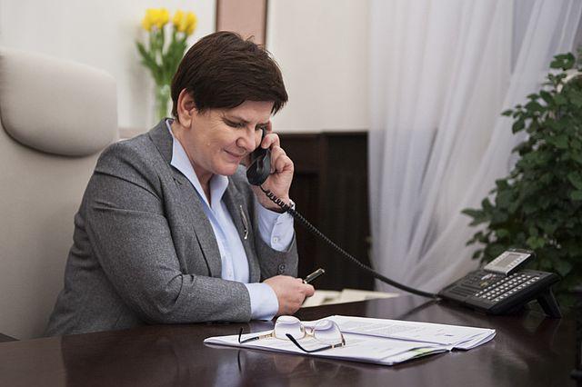 Polish PM Beata Szydło. Photo: Kancelaria Premiera [Public domain], via Wikimedia Commons