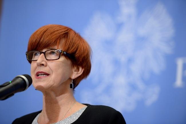 Elżbieta Rafalska. Photo: PAP/Jacek Turczyk
