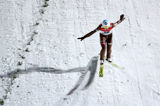 Poland's Kamil Stoch. Photo: PAP/Grzegorz Momot.