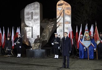 Communist-era massacre remembered in northern Poland