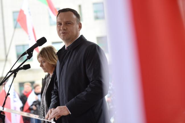 Polish President Andrzej Duda. Photo: PAP/Jacek Turczyk