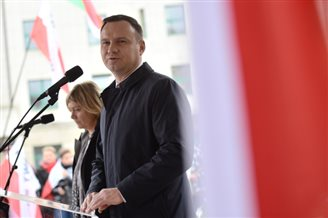 President Duda's popularity drops in October