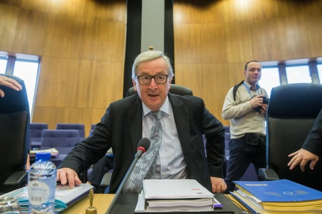 European Commission President Jean-Claude Juncker. Photo: EPA/STEPHANIE LECOCQ