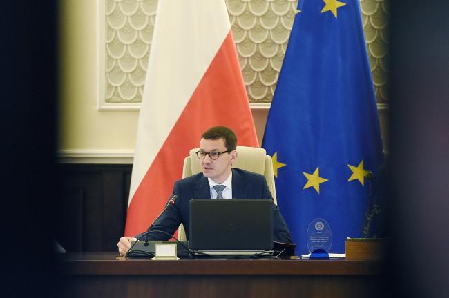 Mateusz Morawiecki. Photo: PAP/Radek Pietruszka.