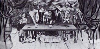 """""""Der verwundete Tisch"""" - wo ist das Gemälde?"""