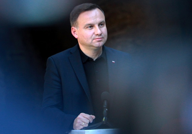 Prezydent RP Andrzej Duda Foto: PAP/Grzegorz Momot