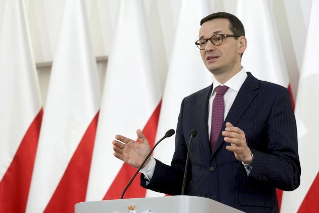 Polish Prime Minister Mateusz Morawiecki. Photo: PAP/Paweł Czarny