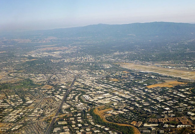 Silicon Valley. Photo: Wikimedia Commons/Coolcaesar.