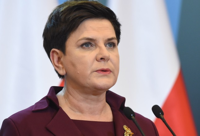 PM Beata Szydło: Photo: PAP/Radek Pietruszka