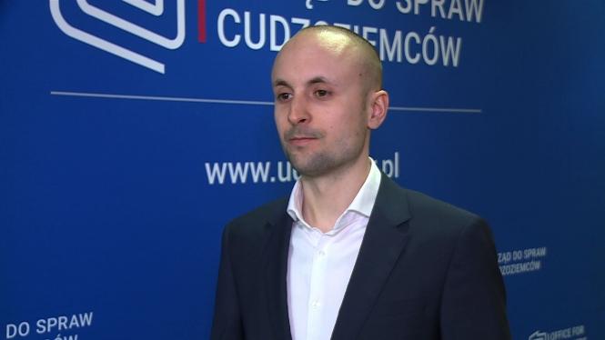 Jakub Dudziak, rzecznik Urzędu do spraw Cudzoziemców – Newseria