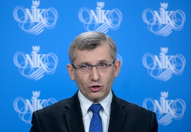 Head of NIK Krzysztof Kwiatkowski. Photo: PAP/Jakub Kamiński