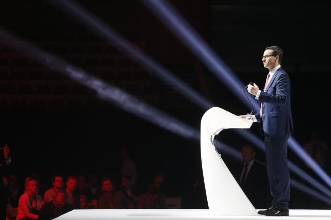 PM Mateusz Morawiecki. Photo: PAP/Andrzej Grygiel