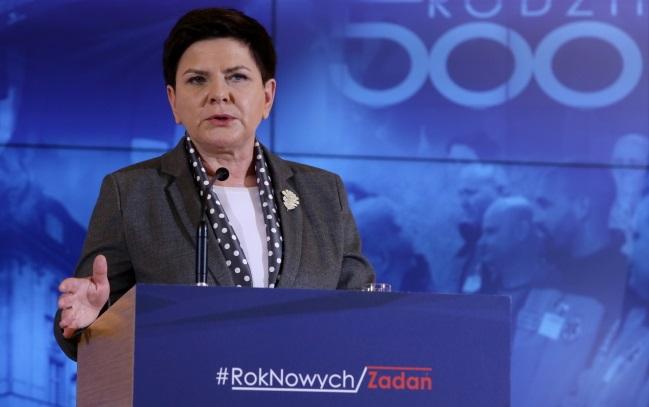 PM Beata Szydło. Photo: PAP/Tomasz Gzell