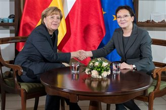 Merkel: Poland and Germany in favour of safety and freedom