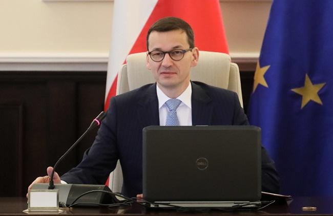 Polish PM Mateusz Morawiecki. Photo: PAP/Paweł Supernak