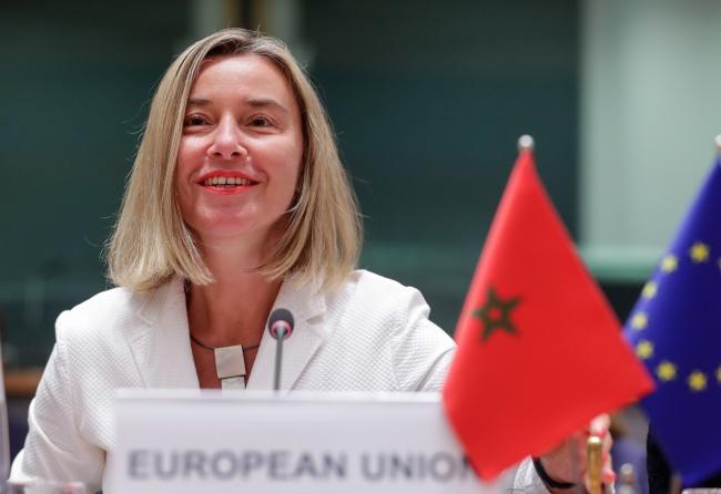 Верховна представник Європейського Союзу з питань закордонних справ Федеріка Моґеріні