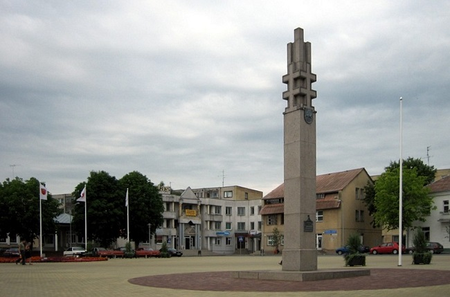 The Lithuanian city of Lazdijai. Photo: Wikimedia Commons