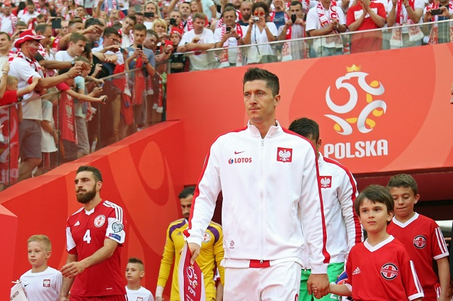 Poland star Robert Lewandowski. Photo: PZPN