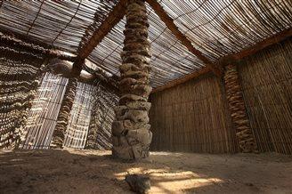 Palm leaf architecture