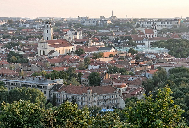 Vilnius Old Town. Photo: Iulius/Wikimedia Commons