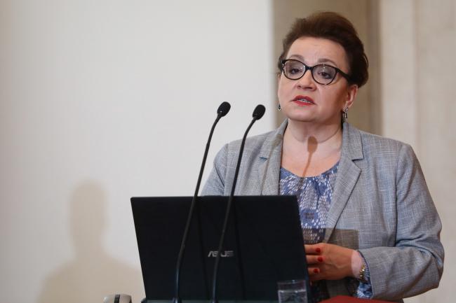 Министр образования Анна Залевская