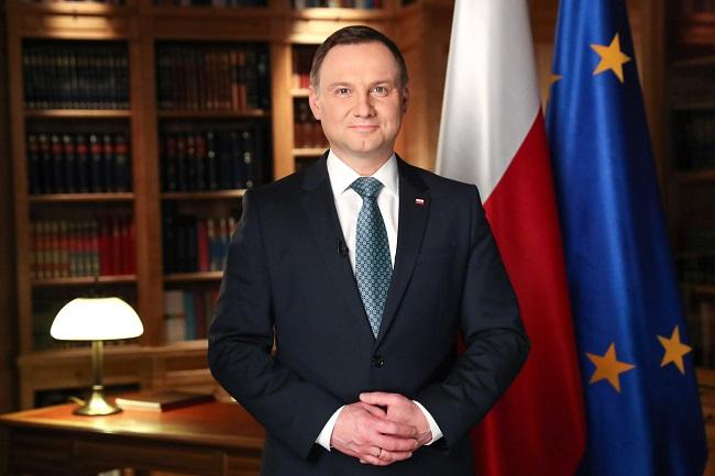 Polish President Andrzej Duda. Photo: Grzegorz Jakubowski/KPRP.