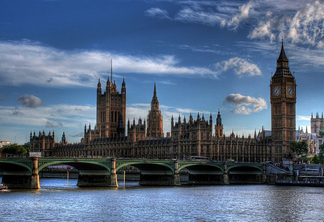 Westminster, London. Photo: Wikimedia Commons/Graeme Maclean.