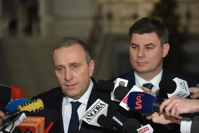PO leader Grzegorz Schetyna. Photo: PAP/Radek Pietruszka