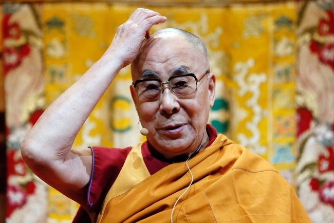 The Dalai Lama. Photo: EPA/MATHIEU CUGNOT