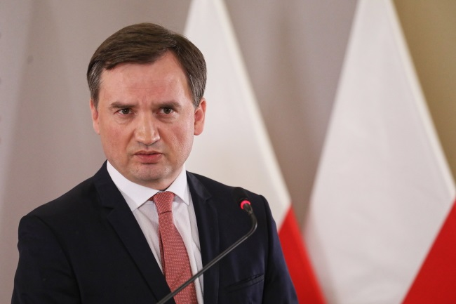 Poland's Justice Minister and Prosecutor-General Zbigniew Ziobro. Photo: PAP/Paweł Supernak