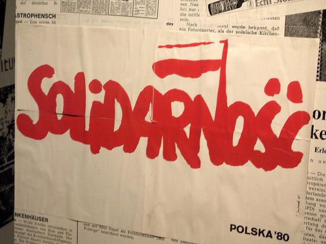 Das Logo der Freiheitsbewegung Solidarność
