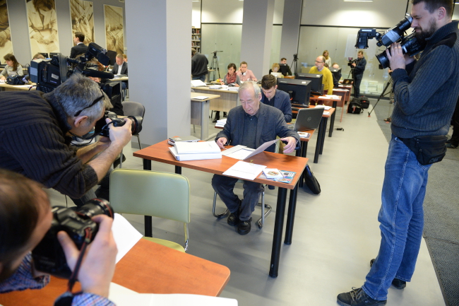 The documents were released to journalists and historians on Wednesday. Photo: PAP/Jacek Turczyk