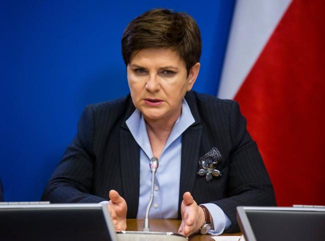 Polish Prime Minister Beata Szydło. Photo: EPA/Stephanie Lecocq.