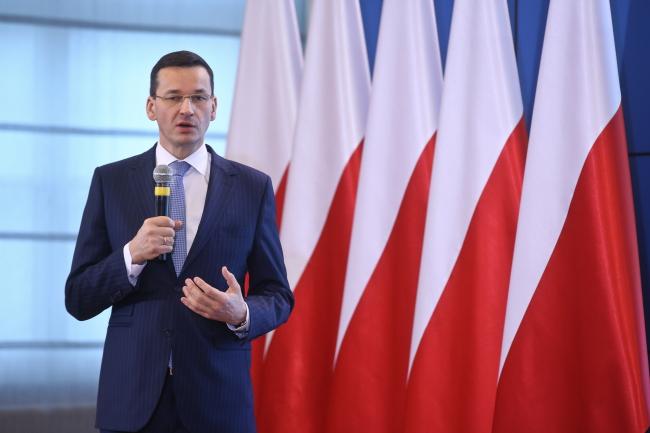 Министр развития Польши Матеуш Моравецкий