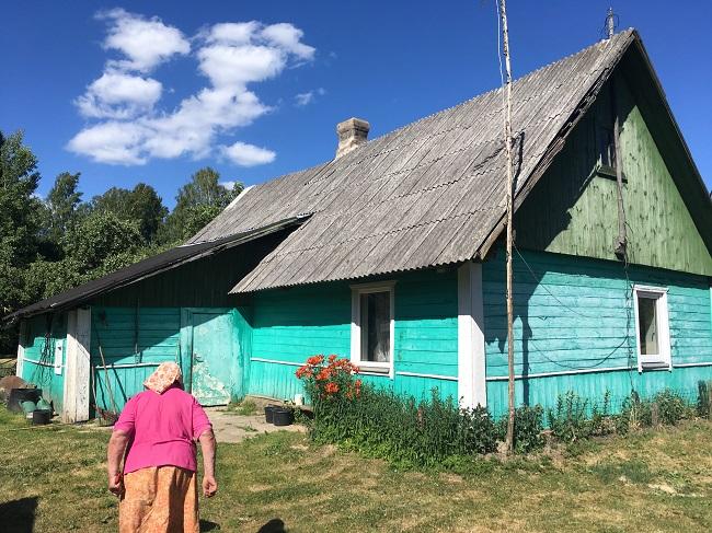 Вёска ў Саліенскай воласьці Даўгаўпілскага раёна Латвіі