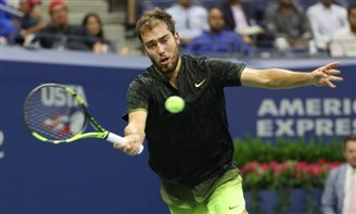 Poland's Janowicz beaten by Djokovic in US Open