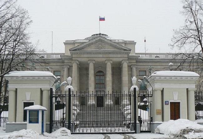 Russian Embassy in Warsaw. Photo: Wikimedia Commons