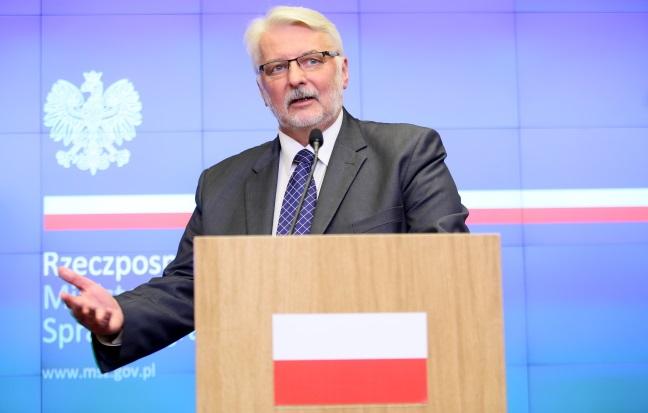 Witold Waszczykowski. Photo: PAP/Leszek Szymański